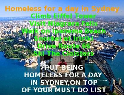 Sydney Homeless Homestay