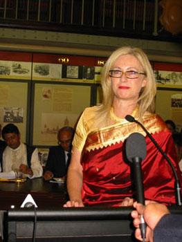 Fair Trading Minister Ms Virginia Judge