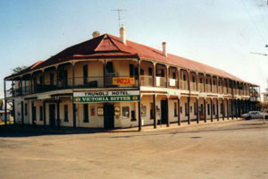 Trundle Hotel c 1909 NSW Tree Change